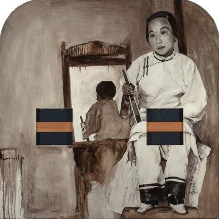 sepia 1900 by hung liu
