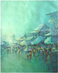 markets of the orient i by sampansak porsakun