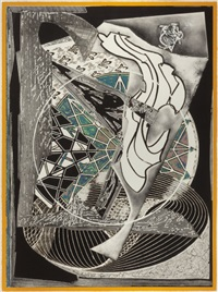 jonah historically regarded (from moby dick engravings) by frank stella