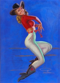 all-american cowgirl by earl macpherson