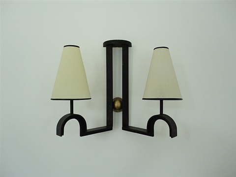 pair of wall lights by jean royère