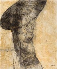 desnudo con sombrilla iii (nude with parasol iii) by joel jover llenderrosos