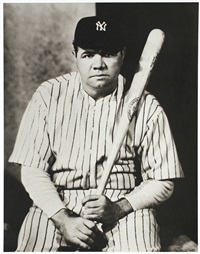 babe ruth by nickolas muray