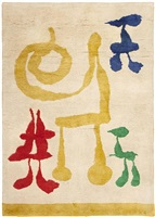 joan miro art deco rug by joan miró