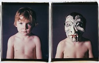 oliver and oliver with a mask #1 by catherine opie
