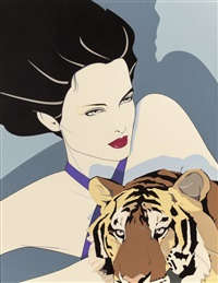 the tigress by patrick nagel