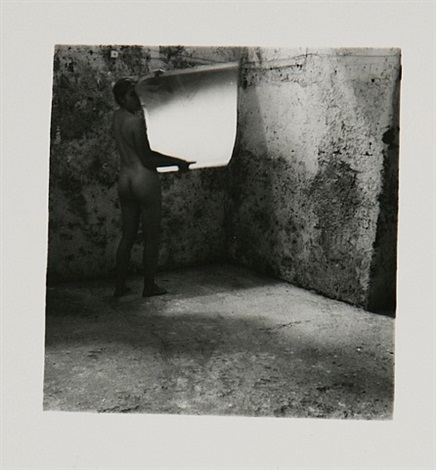 self-deceit #2, rome (1.205) by francesca woodman