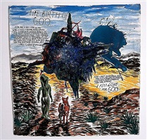 no title (the birth of) by raymond pettibon