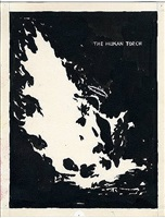 no title (the human torch) by raymond pettibon