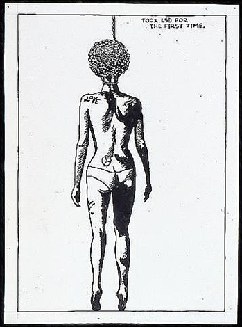 no title (took lsd for) by raymond pettibon