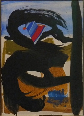 flag wind by peter lanyon