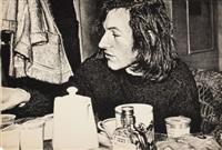 jean-frederick schnyder (from documenta: a portfolio of ten lithographs by ten super-realists) by franz gertsch