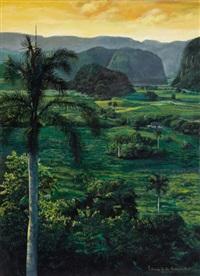 cuban landscape by patricio de la guardia font