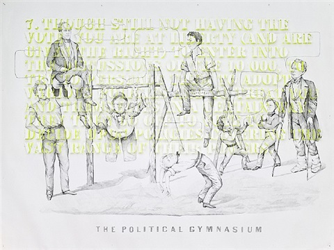 the political gymnasium by pietro ruffo