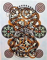 emblem painting by philip taaffe