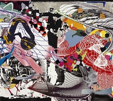 carpathenberg iii (study) by frank stella