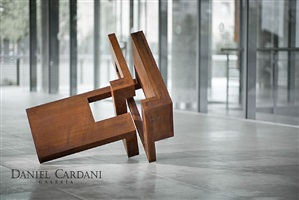 cabeza 7 corten by arturo berned