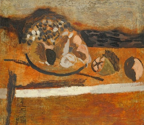 autumn fruit by ben nicholson