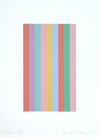 sideways by bridget riley