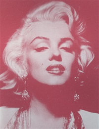 marilyn monroe portrait: reach out and touch faith by russell young