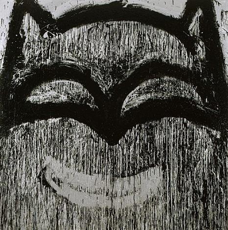 silver batman by joyce pensato