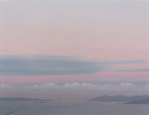 2.24.00 6:50am (golden gate bridge) by richard misrach