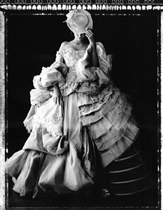 madame au chatelet, dior collection winter 2007, paris by cathleen naundorf