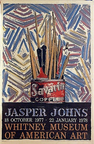savarin, jasper johns, 18 october 1977 to 22 january 1978 by jasper johns