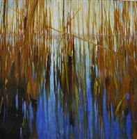 seagrass divided by sky (sold) by david allen dunlop