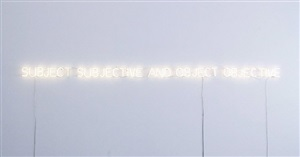 subject and object by joseph kosuth