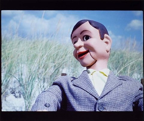 untitled dummy/beach 1 by laurie simmons