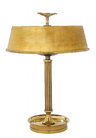 bouillotte-table lamp by andré arbus
