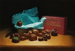 assorted chocolates by dan brown