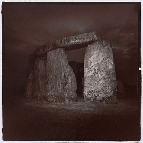untitled, from the stonehenge series by richard misrach