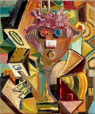 cubism by george condo