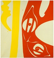 schwingform by ernst wilhelm nay