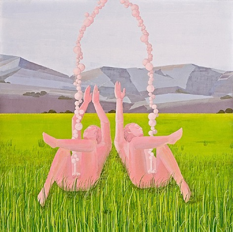 landscape ii - joy of life by turan aksoy
