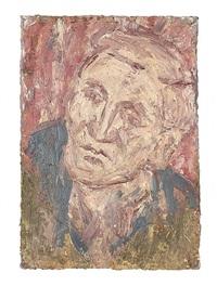 head of john i by leon kossoff