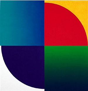 colour and space, division as unity by peter kalkhof