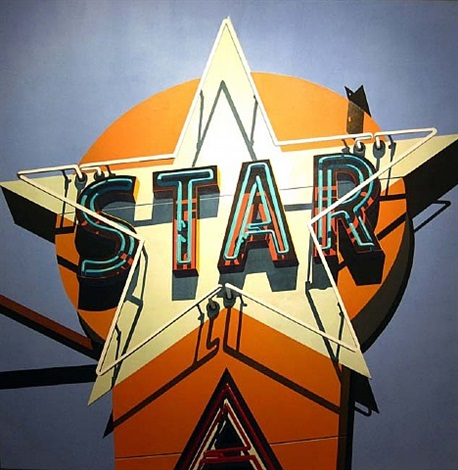aqua star by robert cottingham