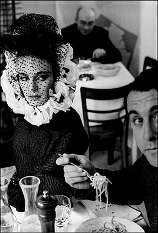 spaghetti by frank horvat