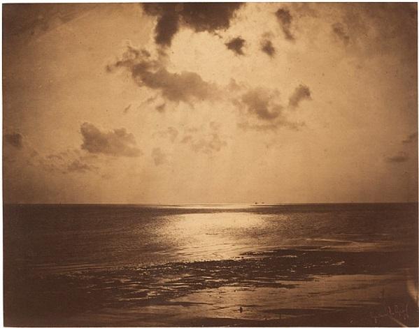 effet de soleil, océan n° 23 by gustave le gray