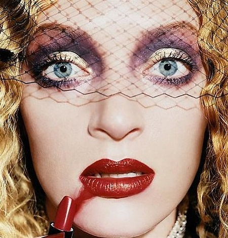 uma thurman 'gossip' by david lachapelle