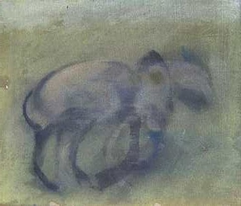 study of a dog by francis bacon
