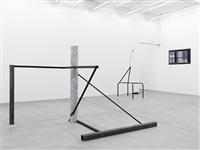 exhibition view galerie eva presenhuber 2012 by oscar tuazon