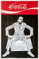 dali sits on coke menu by pakpoom silaphan