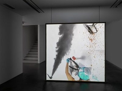installation view, simon lee gallery by alex hubbard