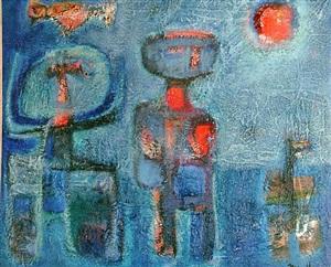 blue by guillermo trujillo