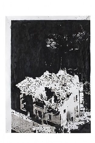 hurricane and other catastrophes (#20) by monica bonvicini