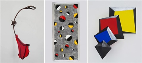 the wall show - wall hung works by 8 sculptors
